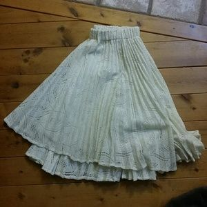 Pins & Needles Lace Skirt